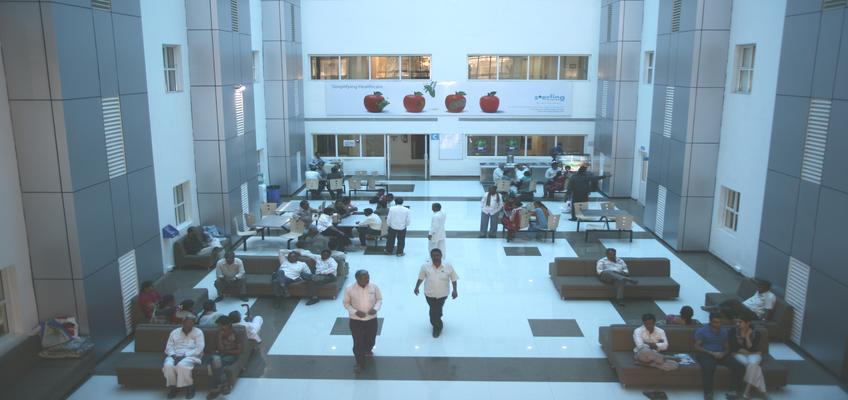 Main Foyer_Rajkot,Sterling Hospitals